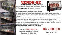 Balcão Frigorífico Açougue Preto Gelopar 955 Litros 2.10m 220v