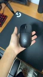 Mouse sem fio gamer Logitech Gpro wireless