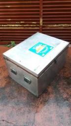 Caixa térmica em aluminio 120 litros