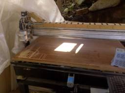 Router CNC usinagem em madeira ACM bvc alumínio ferro