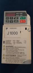 Inversor de frequência J1000 YASKAWA.
