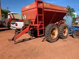 Distribuidor de calcário e fertilizantes Sollus 10 Ton - Tk Tratores Nova Andradina - MS