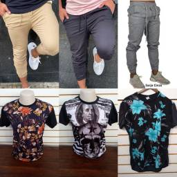 Conjunto 1 camisa+ 1 calça por apenas $100,00 cada