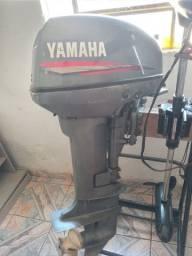 3800,00 Motor de popa yamaha 15hp 1998