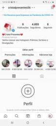 Contas de Instagram