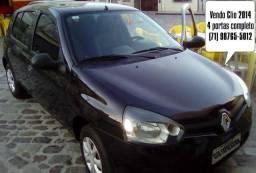 Vendo Renault Clio 4 Portas 2014 completo com Gás