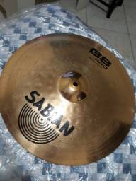 Prato thin crash 16 sabian b8 pro ataque