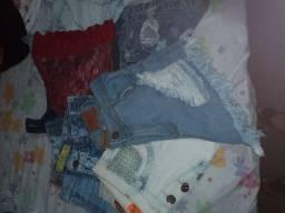 Vendo lote de shorts jeans n°42