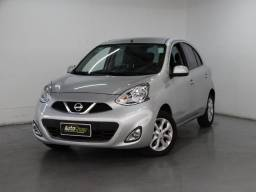 Nissan March Sv 1.6 Flex Prata