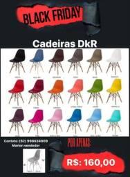 Cadeiras na promoção Black Friday