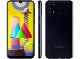 "Samsung Galaxy M31 128GB - 6GB ram - Tela 6,4"" - Bateria 6000 mAh"