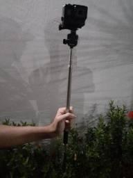 Bastão Retrátil de metal para Câmeras Digitais ou Celulares
