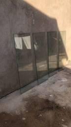 Vidros para prateleiras