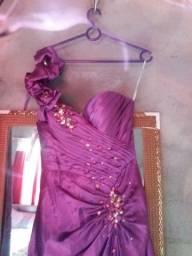 Vestido de festa de luxo