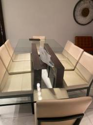 8 Cadeiras de Jantar Loja Templus - Semi Novas