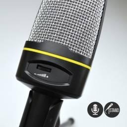 Microfone Condensador Andowl Suporte, dispensa Photon Power