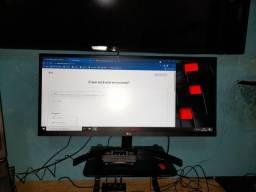 Título do anúncio: Monitor LG 29 polegadas com caixa e nota fiscal (comprado em julho desse ano)