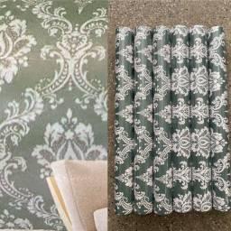 Título do anúncio: Para decorar sua sala com adesivo papel parede lindo com fundo verde