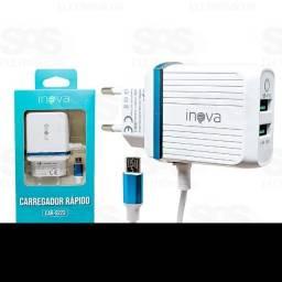 Carregador Turbo 4.8A micro USB (V8) Inova