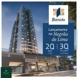Título do anúncio: Venda Apartamento 2 Quartos, Suite, Garagem e Lazer Negrão de Lima Alameda Leste