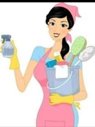 Ofereço meus serviços domésticos