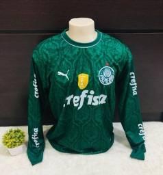 Camisa Palmeiras Manga Longa