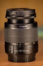 Título do anúncio: Lentes Canon 18-55mm e 55-250mm