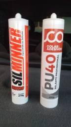Silicone para vedação em esquadrias