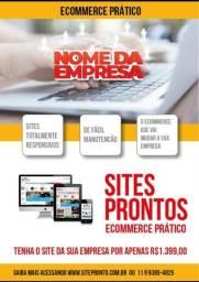 Site ecommerce pronto