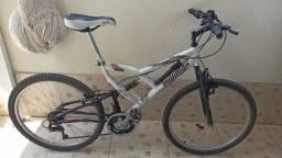 Título do anúncio: Bicicleta Mormaii full suspension 21 marchas