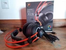 Fone Headset Gamer Cougar Immersa Pro Prix Surround 7.1 seminovo