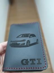 Carteira porta cartão CNH golf  GTI