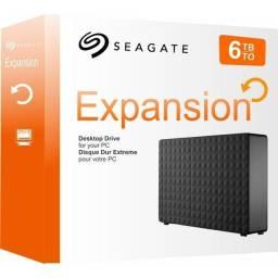 HD externo 6TB novo