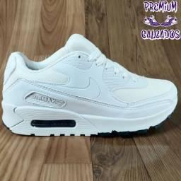 Tênis Nike Air max 90 branco - Fazemos entregas