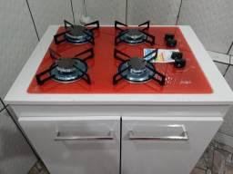 Título do anúncio: Vendo fogao cooktop novo ñä caixa com balcao