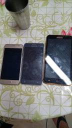 Vendo esses celulares com a tela quebrada