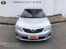 Corolla GLI 1.8 Automático 2012 completo ligue 9. * luciana