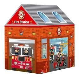 Título do anúncio: Cabana Barraca Infantil Corporação Bombeiros Vermelha BW133B