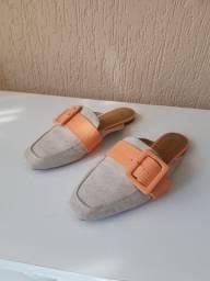Sapato mule, offline, número 36