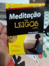 Livro meditação para leigos edição de bolso novo