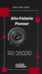 Título do anúncio: Auto Falante Pioneer 6 Polegadas Instalado