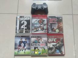 Jogos e controle PS3