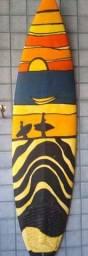 Pranchas surf  decorativo  varanda casa de praia