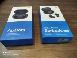 Fone de ouvido In-ear sem fio Xiaomi Redmi AirDots 2 preto