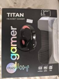 Headset dazz Usb Novo