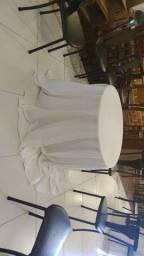 Toalha de mesa redonda para buffet