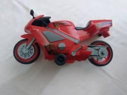 Moto à Fricção Vermelha