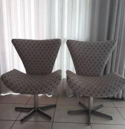 Conjunto de 2 poltronas e 2 sofás impermeáveis, retrátil/reclinável e fixo