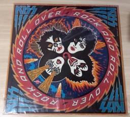LP Kiss-Rock And Roll Over (1976) Casablanca - VIP-6376 Ed. Japão Vinil