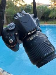 Câmera profissional Nikon D5100 Parc em 12x sem juros  aceito filhote de pug